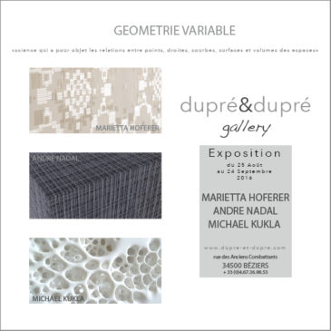 EXPOSITION GEOMETRIE VARIABLE