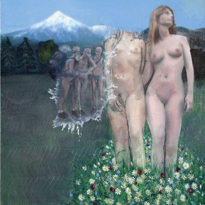 « Suzanne », 2014, Huile sur toile, 173X162 cm