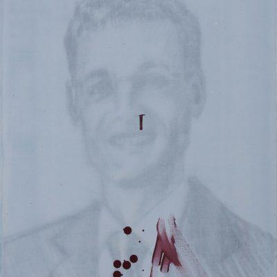 portraits qui saignent 2014 50x61