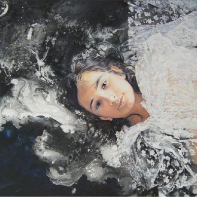 K. Bourdarel-Meliane-2016- huile sur toile-81x130cm
