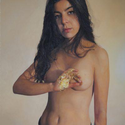 Sans fleurs ni couronnes #2 - 2015 - huile sur toile - 100x65cm