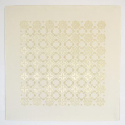 Co_1_, 2016  bande transparente et graphite sur papier  92 x 92cm
