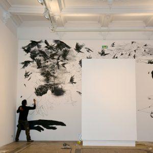oeuvre in situ espace Dominique Bagouet