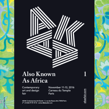 Salon AKAA – Also Known As Africa 11 au 13 Novembre