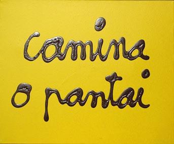 7112 [CAMINA O PANTAI] 2010 Acrylique sur toile 50 x 61 cm ©PN B