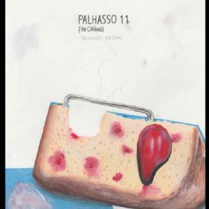 Palhasso 11, technique mixte sur papier, 29,7 x 21 cm, 2017