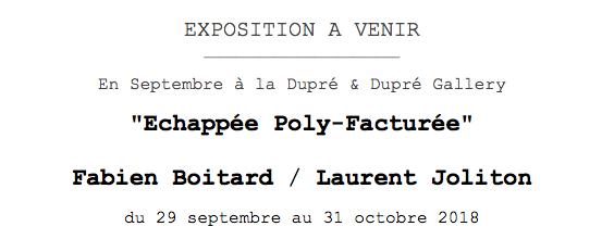 Nouvelle Exposition