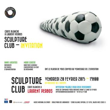 Laurent Perbos…au musée National du sport à Nice !