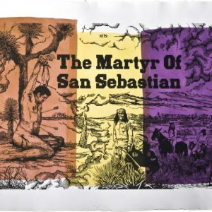 Jean-Marie Picard The Martyr of San Sebastian, 2015 format du papier : 65 × 50 cm format de la matrice : 60 × 50 cm numérotés de 1/30 à 30/30