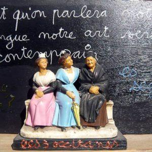 4613 [TANT QU'ON PARLERA NOTRE...] 2000 Acrylique et objet sur bois 50 x 30 cm ©PN