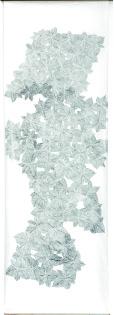 Ombre de feuilles K 1405, 2014, graphite sur papier japon, 210 X 69 cm